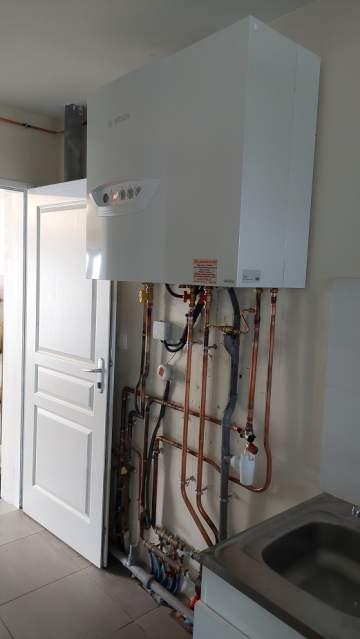 Installation chaudière gaz condensation à Tournefeuille